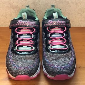 Sketchers S-Lights Air Lites Black/Multi-coloured